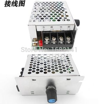 DC 9V to 60V 20A DC Motor Controller Stepless Speed Voltage Regulation PWM DC Motor Speed Controller 12V 24V 36V 48V 60V 600W