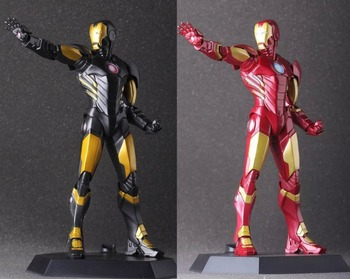 "9"" The Avengers Super Hero Ironman Iron Man CT Ver. Boxed 22cm PVC Action Figure Collection Model Doll Toy Gift"
