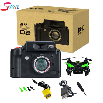 DHD D2 Mini RC Drone Wtih Camera Quadcopter Professional Drones Flying Helicopter Remote Control Toys VS JJRC H20 CX10W CX-10WD