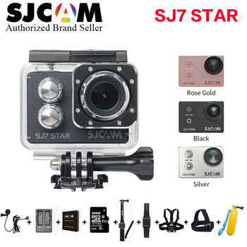 "SJCAM SJ7 Star Ultra HD 4K 30fps Action Camera 2.0"" Touch Screen Ambarella A12S75 Waterproof Remote Sport DV Optional Package"