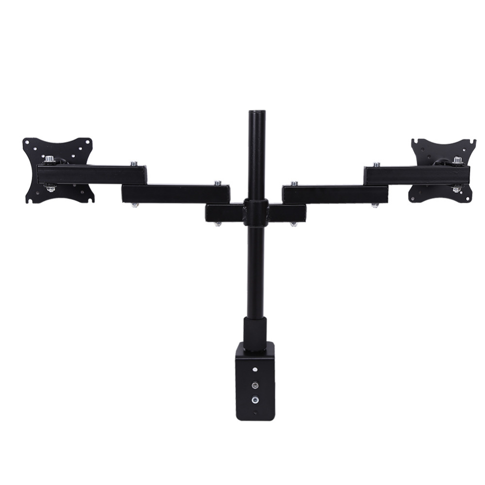 Adjustable Monitor Stand Single Dual LCD Computer Monitor Desk Mount Stand Fully Adjustable Screen up to 27""